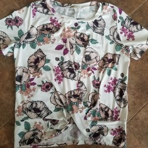Gaze floral blouse
